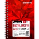 Koh-I-Noor Bristol Smooth Bright White Paper Pad