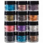 Jacquard Pearl Ex Powdered Pigments 12 Color Set - Series III - Twelve .75oz Jars