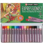 Sakura Cray-Pas Expressionist Oil Pastels: 16 Colors