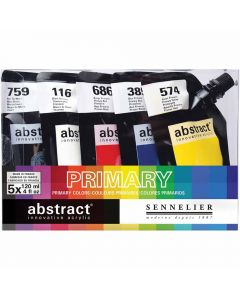 Sennelier Abstract Primary Set 5 Colors